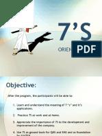 7s Orientation Powerpoint