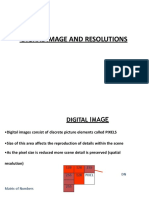 Image Resolutions
