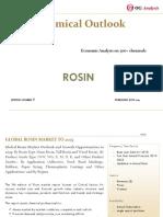 OGA_Chemical Series_Rosin Market Outlook 2019-2025