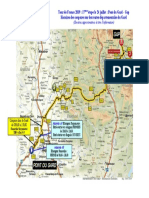 Les coupures de routes pour l'étape Pont du Gard-Gap