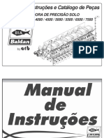 Manual de Instruções PPSolo SB ( Português )