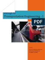 Enough to Transportation Engineering i