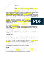 Copy of Consultant Agreement General Template