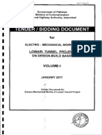 Bidding Documents for Lowari Tunnel 2017