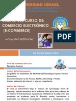 DISEÑO CURSO COMERCIO ELECTRONICO MODALIDAD PRESENCIAL