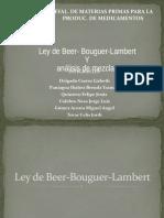EXPO Ley de Beer-Bouguer y Analisis de Mezclas