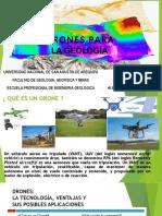 DRONES EN LA FOTOGEOLOGIA
