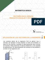 PPT-01-Vectores, Producto Escalar y Vectorial, Vectores en El Espacio