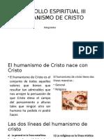 Humanismo de Cristo