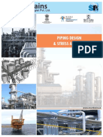 Brochure for Piping Design Stress Analysis
