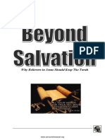 Torah Beyond Salvation