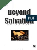 Torah Beyond Salvation