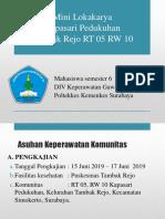 Mini Lokakarya RT 5 Tambakrejo