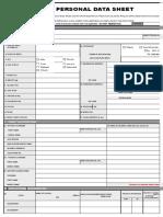 PDS 2017 CS Form No. 212 revised Personal Data Sheet 2.xlsx