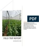Drip Irrigation Report