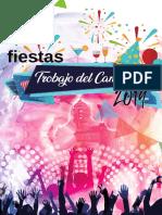 Programa Fiestas Trobajo 2019