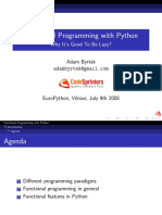 Functional Programming with Python
