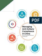 Managing Anti-bribery Compliance in China