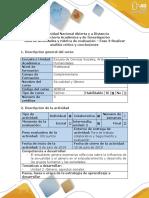 fase 3 - Realizar Análisis Crítico y Conclusiones