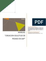 Manual- Creacion de SP en SAP TA01