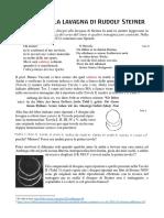 I Disegni Alla Lavagna Di Rudolf Steiner e Confronto