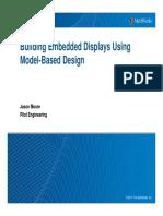 Building Embedded Displays Using Model Based Design