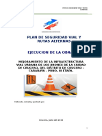 Plan de Seguridad Vial y Rutas Alternas - Consorcio KyM Contratistas