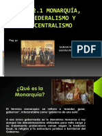 monarquia y federalismo