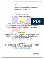Carta Presentacion TEMESA