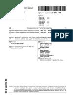 Patente Española de Recuperacion de Nb o Ta