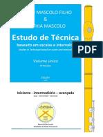Mascolo, Estudo de Técnica - Volume Unico -25Marc19