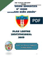 Plan Lector Institucional 2019