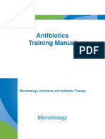 Antibiotics Training Manual