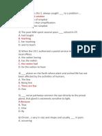 Structure TOEFL