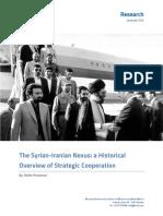 The Syria Iran Nexus 1