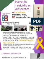 Prevención Del Suicidio OPySI a.C..Pptx