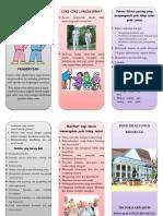 Leaflet - Pola Hidup Sehat Pada Lansia
