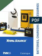 Catalogo Total Source Baterias