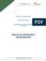 Manual de Operacion y Mantenimiento - Alcantarillado
