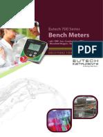 Eutech Bench 700 Series Family Brochure r1