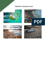 Contaminación y Escasez Del Agua