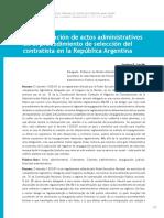 Carrillo, Santiago. La Impugnación de Actos Administrativos en Cont Adm