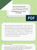 Experimentación agrícola-Práctica N°12