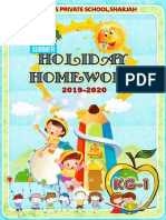 KG1 Holiday Home Work
