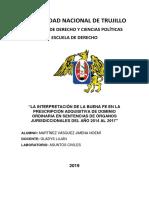 Universidad Nacional de Trujillo Caratula