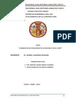 Las Corrientes Del Pensamiento Económico TRABAJO MONOGRAFIA