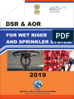 Dsr Aor for Wet Riser and Sprinkler System 2019