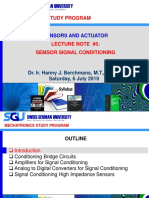Sensor Signal Conditoning