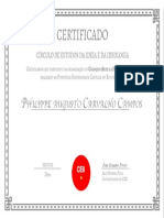 CEII Certificado Philippe Organizacao Na PUC