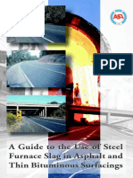 A Guide to the Use of Steel Slag